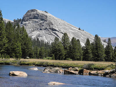 Photograph - Lembert Dome And Tuolomne River Yosemite National Park by NaturesPix