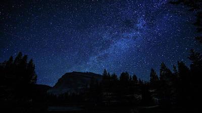 Photograph - Lembert Dome Milky Way Stars Yosemite by Lawrence S Richardson Jr