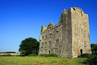 Irish Castle Photograph - Lemenagh Castle by John Quinn