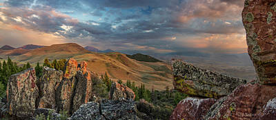 Photograph - Lost Panoramic by Leland D Howard