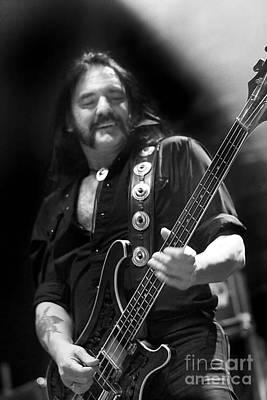 Lemmy Photograph - Lemmy Kilmister - Motorhead 2007 Uk Live Concert Tour S60 by Vintage Rock Photos