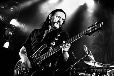Lemmy Photograph - Lemmy Kilmister - Motorhead Liverpool Uk  S36 by Vintage Rock Photos
