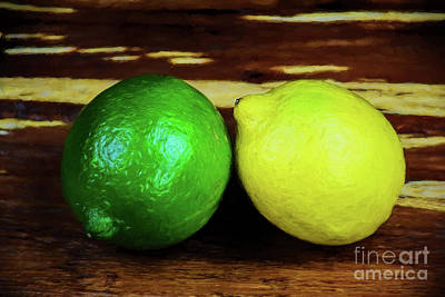 Photograph - Lemon And Lime 128 by Ray Shrewsberry