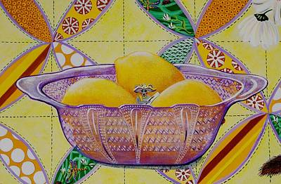 Painting - Lemon Artist by Jennifer Lake