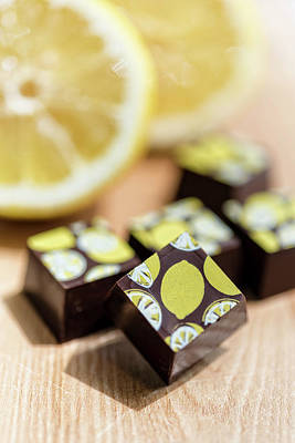 Photograph - Lemon Chocolate by Sabine Edrissi