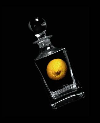 Photograph - Lemon Decanter by Diana Angstadt
