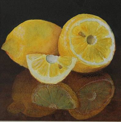 Painting - Lemon Delight by Kathy Staicer