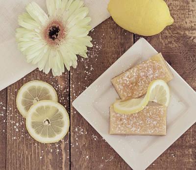 Lemon Delight Art Print by Kim Hojnacki