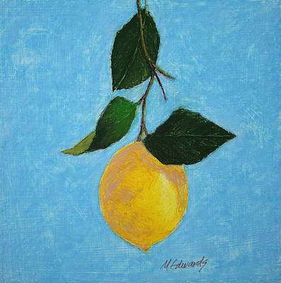 Painting - Lemon Drop by Marna Edwards Flavell