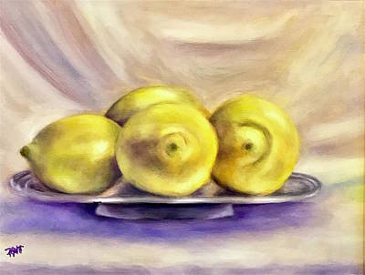 Painting - Lemon Drops by Dr Pat Gehr