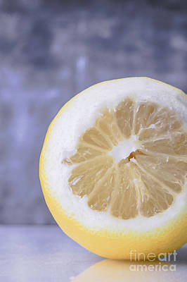 Lemon Half Art Print by Edward Fielding