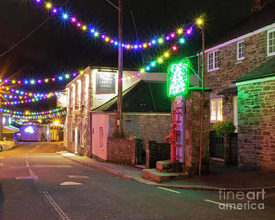 Photograph - Lemon Hill Mylor Bridge At Christmas by Terri Waters