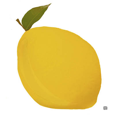 Painting - Lemon I by Lisa Weedn