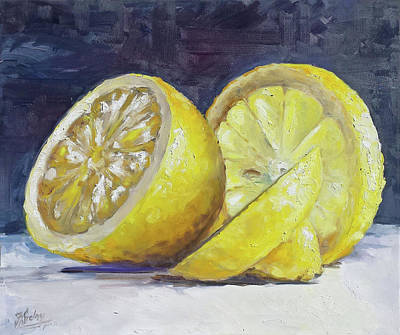 Painting - Lemon by Irek Szelag