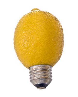Photograph - Lemon Light by Jim DeLillo