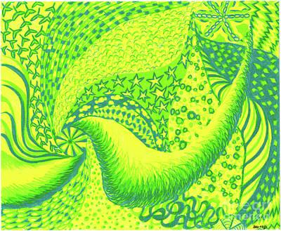 Lemon Lime Print by Kim Sy Ok