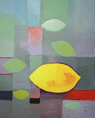 Painting - Lemon by Lutz Baar