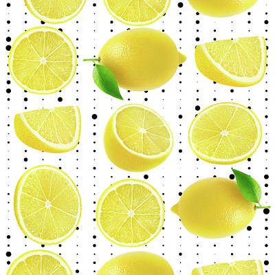 Lemon  Print by Mark Ashkenazi