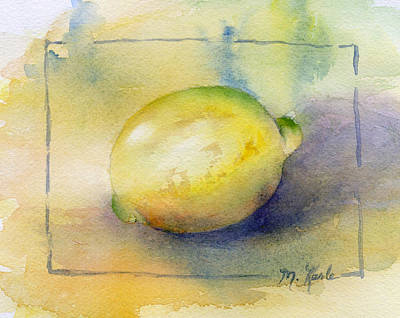 Painting - Lemon by Marsha Karle