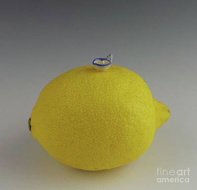 Wheel Thrown Photograph - Lemon Juicer by David Bearden