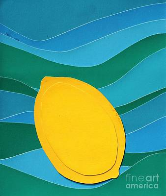 Lemon Slice Art Print by Vonda Lawson-Rosa
