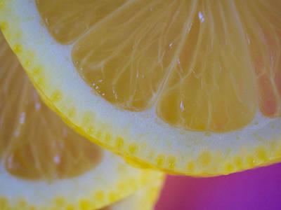 Photograph - Lemon Slices by VB Medley