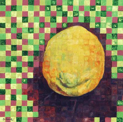 Lemon Squares Print by Shawna Rowe