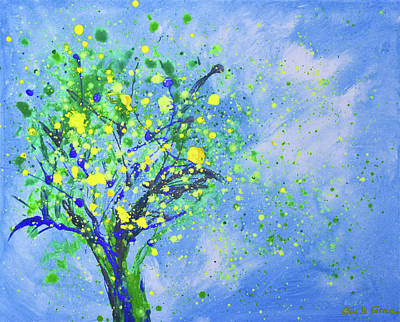 Painting - Lemon Tree by Gina De Gorna