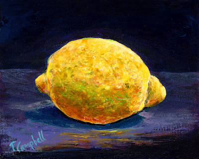 Painting - Lemon  by Trish Campbell