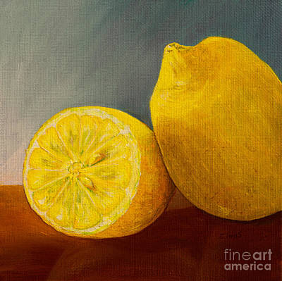 Lemon Original by Zina Stromberg