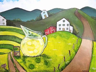 Painting - Lemonade Lane by Shana Rowe Jackson