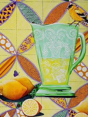 Painting - Lemonade Please by Jennifer Lake