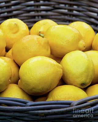 Photograph - Lemons 03 by Rick Piper Photography
