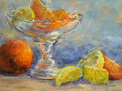 Lemons And Oranges Art Print