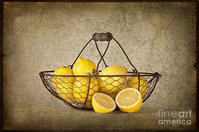 Photograph - Lemons by Heather Swan