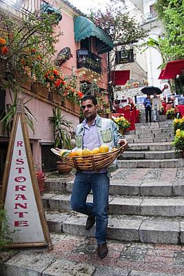 Photograph - Lemons In Taormina Sicily by David Smith