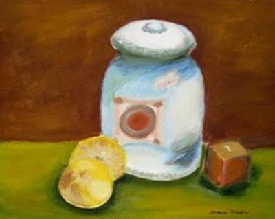 Painting - Lemons by Jamie Frier
