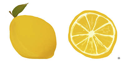 Painting - Lemons by  Lisa Weedn
