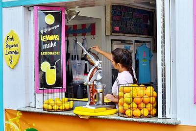 Photograph - Lemon's Make Lemonade - Rehoboth Beach Delaware by Kim Bemis