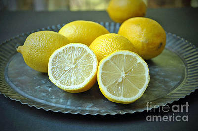 Photograph - Lemons by Maureen Cavanaugh Berry