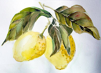 Lemons Original by Mindy Newman