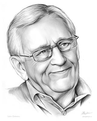 Drawings Rights Managed Images - Len Cariou Royalty-Free Image by Greg Joens
