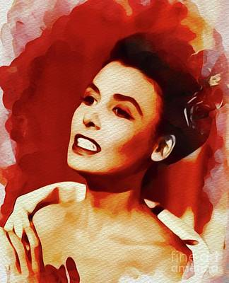 Recently Sold - Portraits Royalty-Free and Rights-Managed Images - Lena Horne, Singer and Actress by Esoterica Art Agency