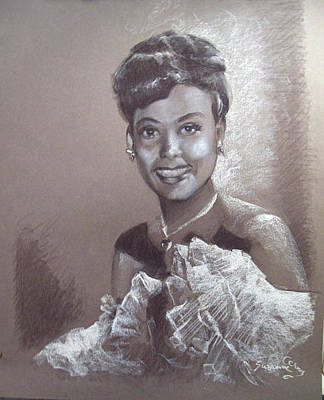 Painting - Lena Horne by Suzanne Cerny