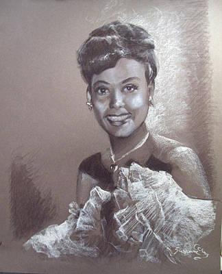 Painting - Lena Horne by Suzanne Giuriati-Cerny