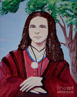 Painting - Lena Lucenda Berry 1840 1869 by Lisa Rose Musselwhite