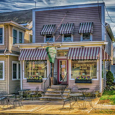 Photograph - Lebanon General Store by Nick Zelinsky