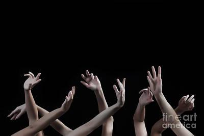 Photograph - Lend Me A Hand by Robert WK Clark