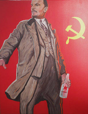 Olympic Sports - Lenin Gets Bolshi After a Bevi by Gary Hogben