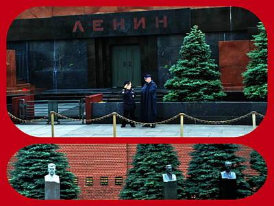 Photograph - Lenin Mausoleum by Jacqueline M Lewis